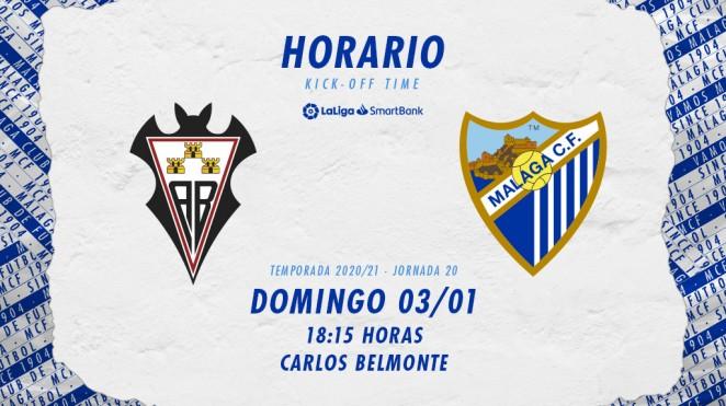 Albacete - Málaga se jugará el 3 de enero