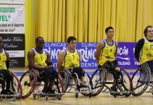 Derrota para el Baloncesto en Silla de Ruedas de Vélez-Málaga.