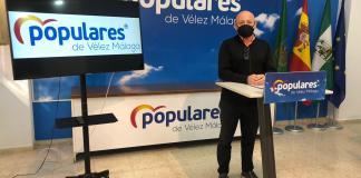 El concejal del PP de Vélez-Málaga Jorge Pérez.
