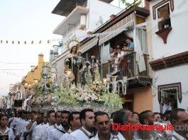 La fiesta de la Virgen del Carmen de Vélez-Málaga es una tradición.