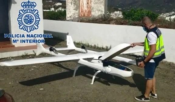Desarticulada una organización criminal en la Axarquía que operaba con un dron para el transporte de droga entre Marruecos y España