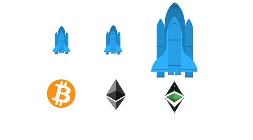 Bitcoin y Ethereum suben de precio, pero más lo hace Ethereum Classic