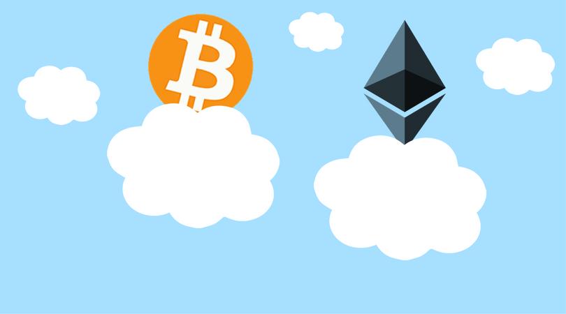 Bitcoin supera los 2400 dólares y Ethereum creció por sobre los 200 dólares
