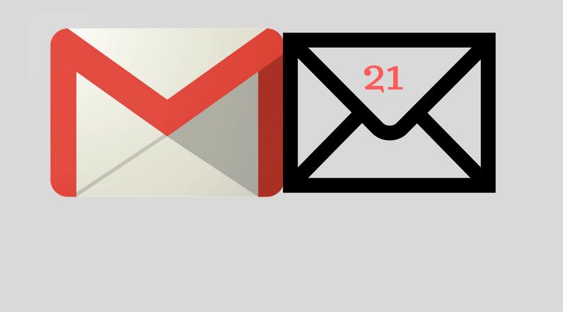 21 Inc ofrece a usuarios la posibilidad de ganar dinero a través de cuentas de Gmail