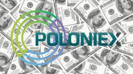 Circle: aviso a clientes de Poloniex. Imagen hecha en Canva con logos de las empresas