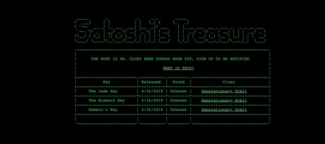 satoshi tesoro web