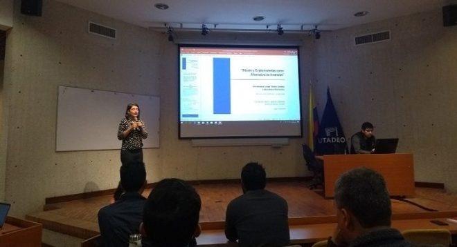 Clase Abierta sobre Blockchain en Universidad Jorge Tadeo Lozano