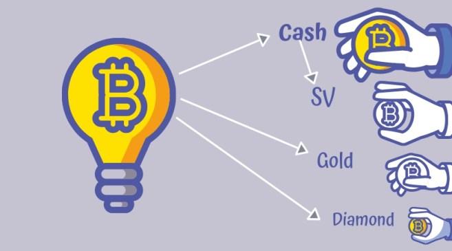 forks de Bitcoin