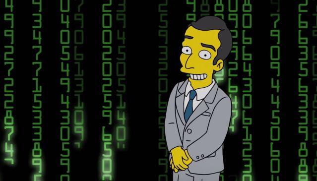 Los Simpson criptomonedas