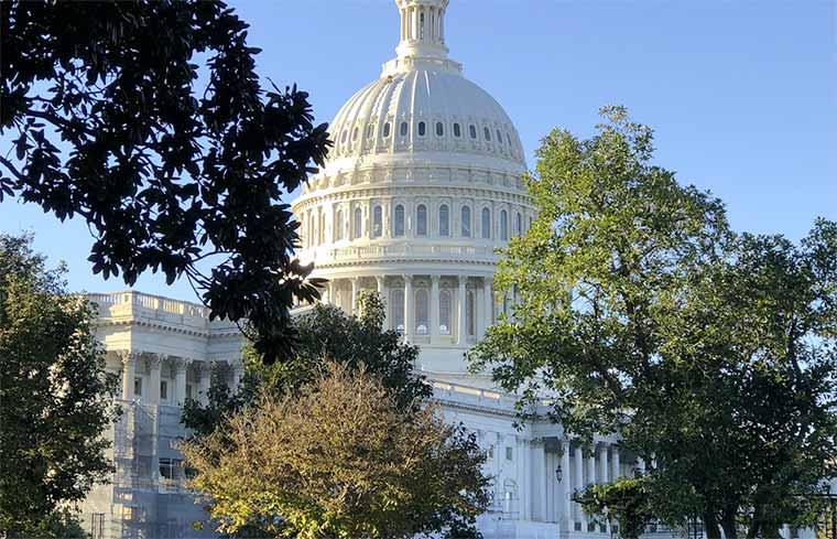 Washington DC, Capitolio, Imagen de uso Libre via Unsplash