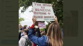 bitcoin en protestas por muerte de Floyd