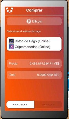 WebApp Panda Venezuela