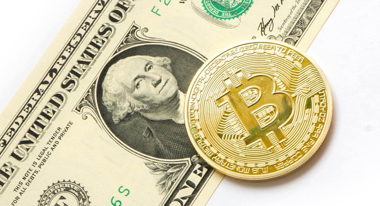 dólar y bitcoin