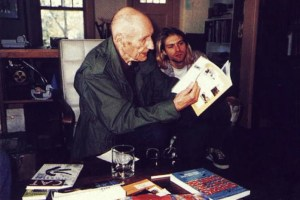William Borroughs y Kurt Cobain