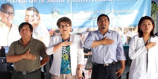 Vicepresidencia acerca servicios de salud a población de Cuscatancingo