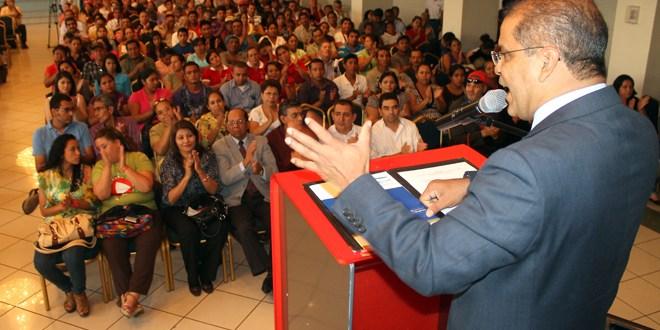 Micro y pequeños empresarios externan  apoyo a candidatos del FMLN