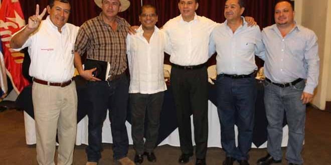 Histórica adhesión a fórmula presidencial del FMLN
