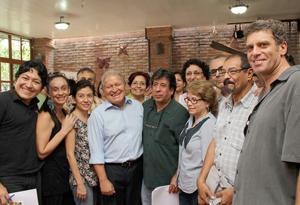Artistas, intelectuales y trabajadores de la cultura suman su apoyo a fórmula presidencial del FMLN
