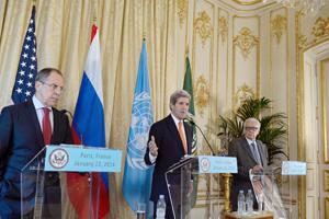 """Estados Unidos y Rusia llaman a un """"alto el fuego limitado"""" en Siria antes de Ginebra-II"""