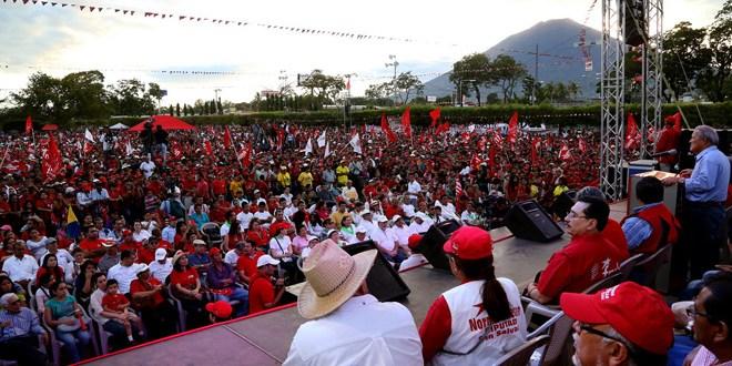Población reafirma victoria del FMLN en primera vuelta