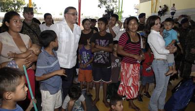 """""""Recibimos un país vulnerable frente a desastres y con instituciones incapaces de dar respuesta"""""""
