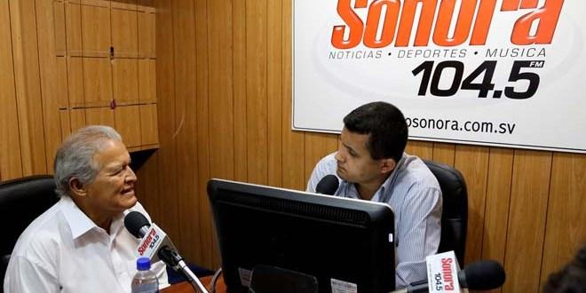 Sánchez Cerén promete un gobierno honrado, eficiente y transparente