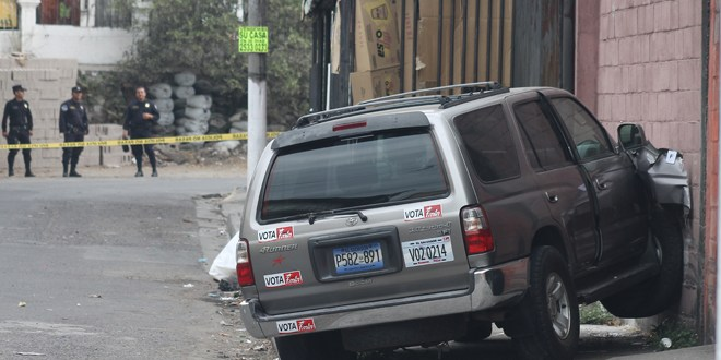 Mueren dos pandilleros tras intento de robo de vehículo de diputado del FMLN