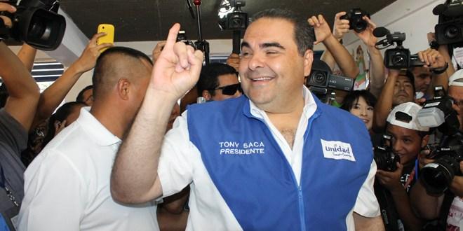 Saca confía en que habrá segunda vuelta electoral