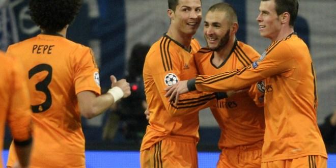 El Real Madrid aplasta al Schalke,  y el Galatasaray aún puede soñar
