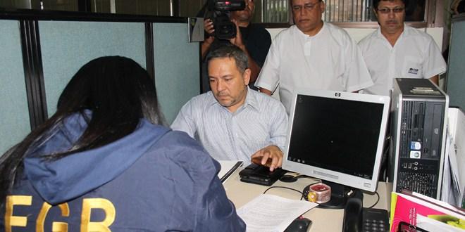 Magistrados avalan pedir información bancaria de ex Presidente Flores