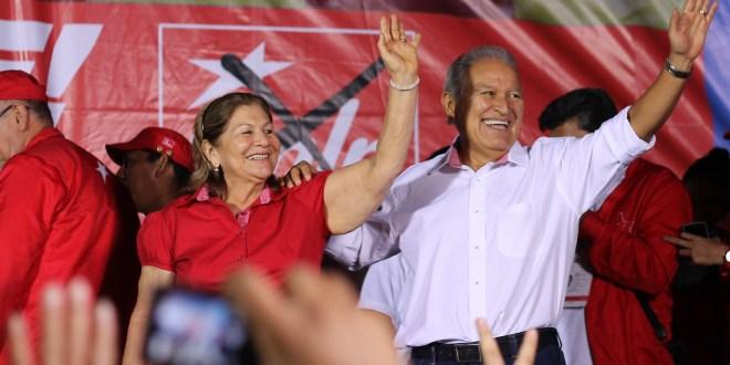 FMLN gana mayoría de votos en 13 de los 14 departamentos del país