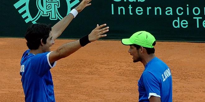 A semifinales de Copa Davis gracias a los Arévalo