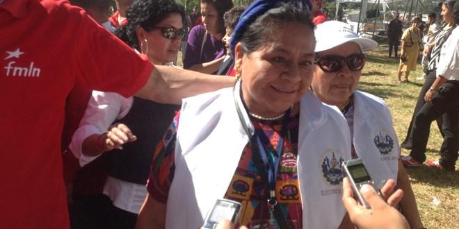 Observadores internacionales en Santa Tecla