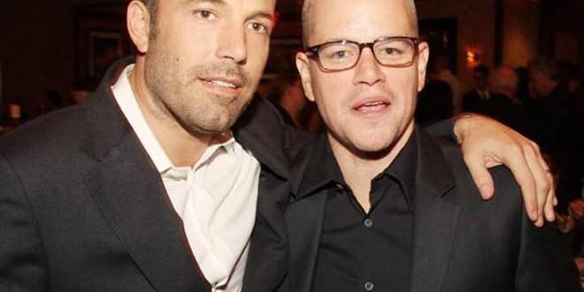 Damon y Affleck sortean cita doble por un buen fin