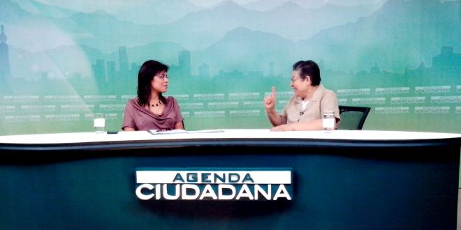 """María Ofelia Navarrete: """"Sánchez Cerén es un hombre conciliador"""""""