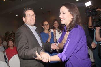 Diputada de Venezuela recomienda a ARENA seguir con campaña de desestabilización