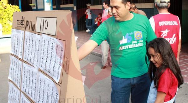 Votación inicia sin mayores incidentes en San Miguel
