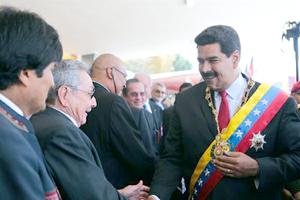 Venezuela y Latinoamérica rinden honores a Chávez en el Cuartel de la Montaña