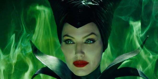 Angelina Jolie asusta a sus propios hijos en su papel de hechicera