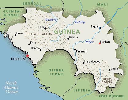 La epidemia de ébola se extiende en Guinea e inquieta a los países vecinos