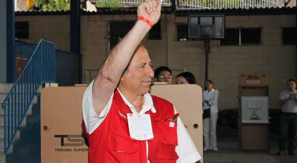 Estoy convencido de que El Salvador reafirmará su vocación por los cambios: Sigfrido Reyes