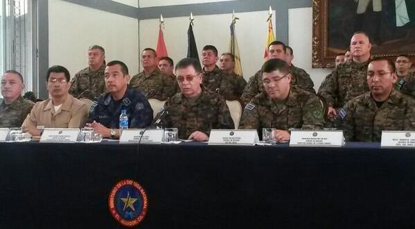 Fuerza Armada y Fiscalía confrontada por documentos