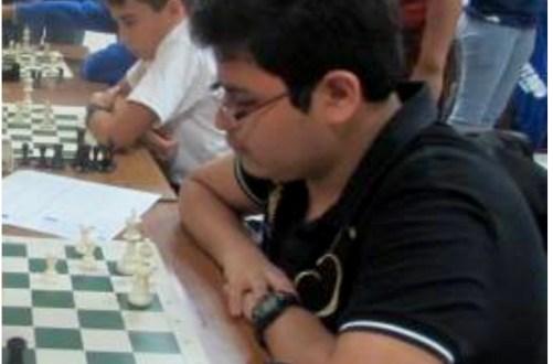 Diego Hernández campeón de la categoría sub 17