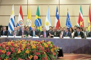 Cancilleres Unasur hablarán de Venezuela, Banco del Sur y Derechos Humanos