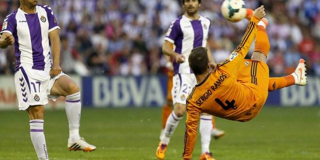 El Real Madrid empata 1-1  en Valladolid y se deja media Liga