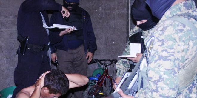 PNC y FGR capturan a 75 supuestos pandilleros en operativos