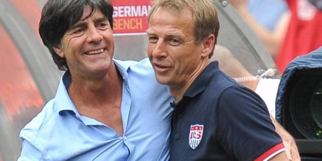 Klinsmann-Löw: choque entre  los reinventores del fútbol alemán