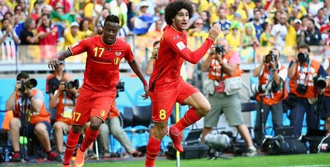 Bélgica remonta y gana 2-1 a Argelia en su debut en el Mundial-2014