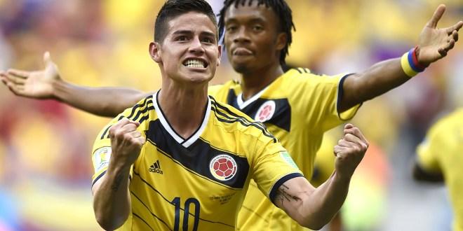 Colombia vence 2-1 a Costa de Marfil y acaricia los octavos de final