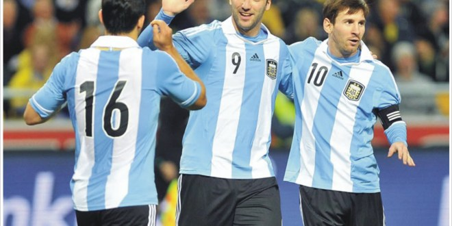 Argentina, la gran favorita